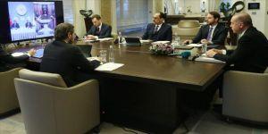 Cumhurbaşkanı Erdoğan Koronavirüs Bilim Kurulu Toplantısı'na katıldı