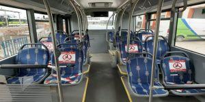 UlaşımPark,otobüslerinde yoğunluğa izin yok