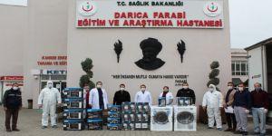 KOÇ Holding'den Darıca Farabi'ye Destek
