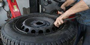 Kış lastiğini değiştirecek sürücülere 'Kovid-19' uyarısı