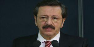 TOBB Başkanı Hisarcıklıoğlu'dan işletmelere 'kısa çalışma ödeneği' çağrısı