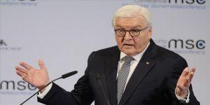 Almanya Cumhurbaşkanı'ndan yeni tip koronavirüs salgınında yardımlaşma çağrısı