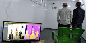 Rasulayn'da koronavirüs tedbirleri kapsamında termal kamera kuruldu