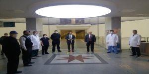 İl Sağlık Müdürü, Fatih Devlet Hastanesi ve Farabi 'yi ziyaret etti