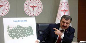 Koronavirüsle ilgili Türkiye'deki en riskli iller !