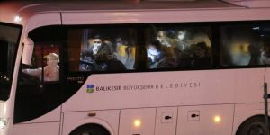 KKTC'den getirilen 190 kişi Balıkesir'deki yurtta karantinaya alındı