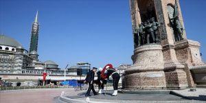 Türk Polis Teşkilatının kuruluşunun 175. yılı törenine 'koronavirüs' düzenlemesi
