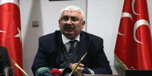 MHP Genel Başkan Yardımcısı Yalçın'dan 'sokağa çıkma yasağına uyun' çağrısı