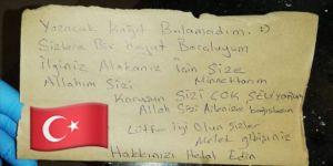 Bursa'da koronavirüsü yenen kişi sağlık çalışanlarına 'Sizlere bir hayat borçluyum' notu bıraktı