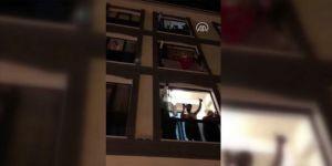 Zeytinburnu sakinlerinden İstanbul polisine 'Polis Haftası' sürprizi