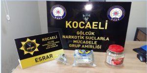 Kocaeli'ye uyuşturucu madde getirileceği ihbarı üzerine harekete geçildi