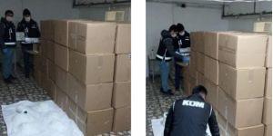 Darıca'da 90.000 adet Cerrahi Maske ele geçirildi