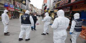 Koronavirüs tedbirlerini ihlal eden toplam 141 şahsa para cezası uygulandı