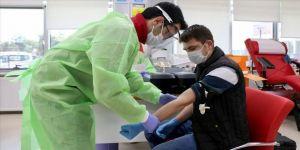 Koronavirüsü yenen polis memuru 'immün plazma' bağışçısı oldu