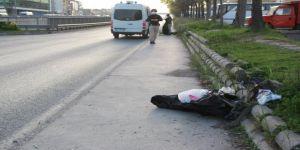 Yol kenarındaki şüpheli çanta paniğe neden oldu !