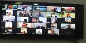 KTO'DA Toplantılar Telekonferans ile devam ediyor