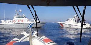 Karasuyu ihlali yapan Yunan Sahil Güvenlik unsurları Türk karasularından çıkarıldı