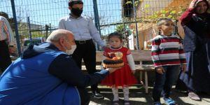 Başkan Bıyık'tan minik Zeliha'ya doğum günü sürprizi