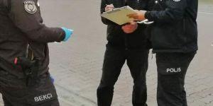 Kocaeli'de sokağa çıkma yasağını ihlal eden kaç kişiye ceza kesildi ?