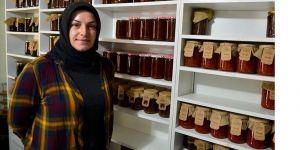 Kadın girişimci köyde kurduğu markayı dünyaya tanıtmak istiyor
