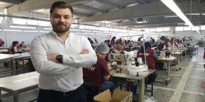 İşçileri için fabrikasını maske üretim merkezine çevirdi