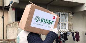 İDDEF'ten 8 bin 200 ihtiyaç sahibi aileye yardım paketi