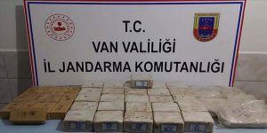 Van'da 39 kilogram eroin ele geçirildi