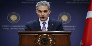 Dışişleri Sözcüsü Aksoy'dan İsrail'in 'Batı Şeria'nın ilhakı' ifadelerine tepki