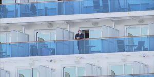 Nagazaki'deki İtalyan yolcu gemisinde Kovid-19 vakası 150'ye yükseldi