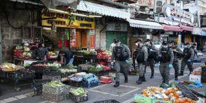 İsrail, Kovid-19 nedeniyle Doğu Kudüs'teki dükkanlara ramazan ayına özel tedbirler getirdi