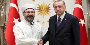 Erdoğan, eşcinseller ile ilgili sözleri nedeniyle Diyanet İşleri Başkanı'na destek çıktı