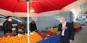 Gebze'de bazı semt pazarlarının gününde değişiklik yapıldı