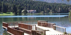 Gölcük Tabiat Parkı en sessiz günlerini yaşıyor