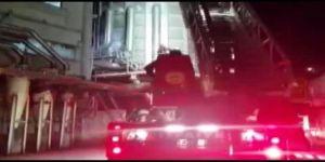 OSB'de mobilya fabrikasında  yangın çıktı
