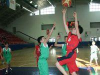 Minik basketçilerin büyük heyecanı
