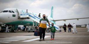 Suudi Arabistan'daki 168 Türk vatandaşı Adana'ya getirildi