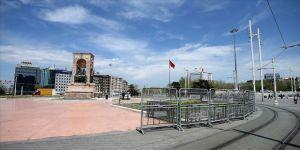 Taksim Meydanı'nda 1 Mayıs tedbirleri