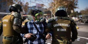 Şili'de 1 Mayıs gösterilerinde 57 kişi gözaltına alındı