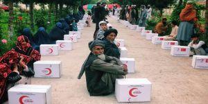 Türk Kızılay'dan Afganistan'daki ihtiyaç sahibi 4 bin aileye yardım