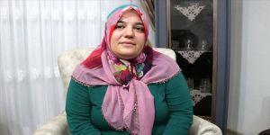 Elazığlı depremzede Azize ve ailesi ikinci hayatlarını yaşıyo