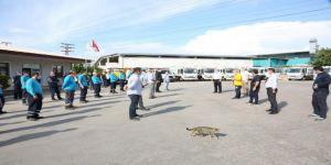 Başkan Bıyık, 1 Mayıs'ta işçileri unutmadı