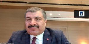 Kocaeli Sanayi Odası Toplantısına Sağlık Bakanı Koca'da Katıldı