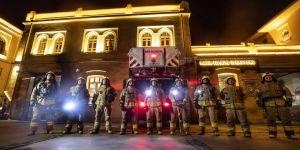 İtfaiyeciler Kovid -19 günlerinde hayat kurtarmaya devam ediyor
