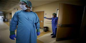 'Kovid-19 ameliyathaneleri'  görüntülendi
