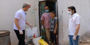 Türk Kızılay, Yemen'deki gıda yardımlarına devam ediyor