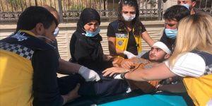 Suriyeli genç beyin tümörü ameliyatı için Türkiye'ye getirildi