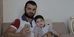 Suriyeli baba 2 yaşındaki engelli çocuğunun annesine kavuşması için yardım talep ediyor