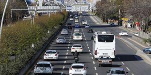 Türkiye'de 3 ayda trafiğe kaydedilen taşıtların yarısı 3 büyük şehirden
