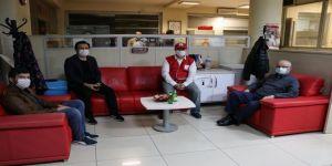 Sağlık Müdürlüğü'nden Kızılay'a Kan Bağışı Kampanyası