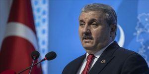 BBP Genel Başkanı Mustafa Destici: Tüm siyasi partiler ülkeye katkı sağlayacak siyaset yapmalı